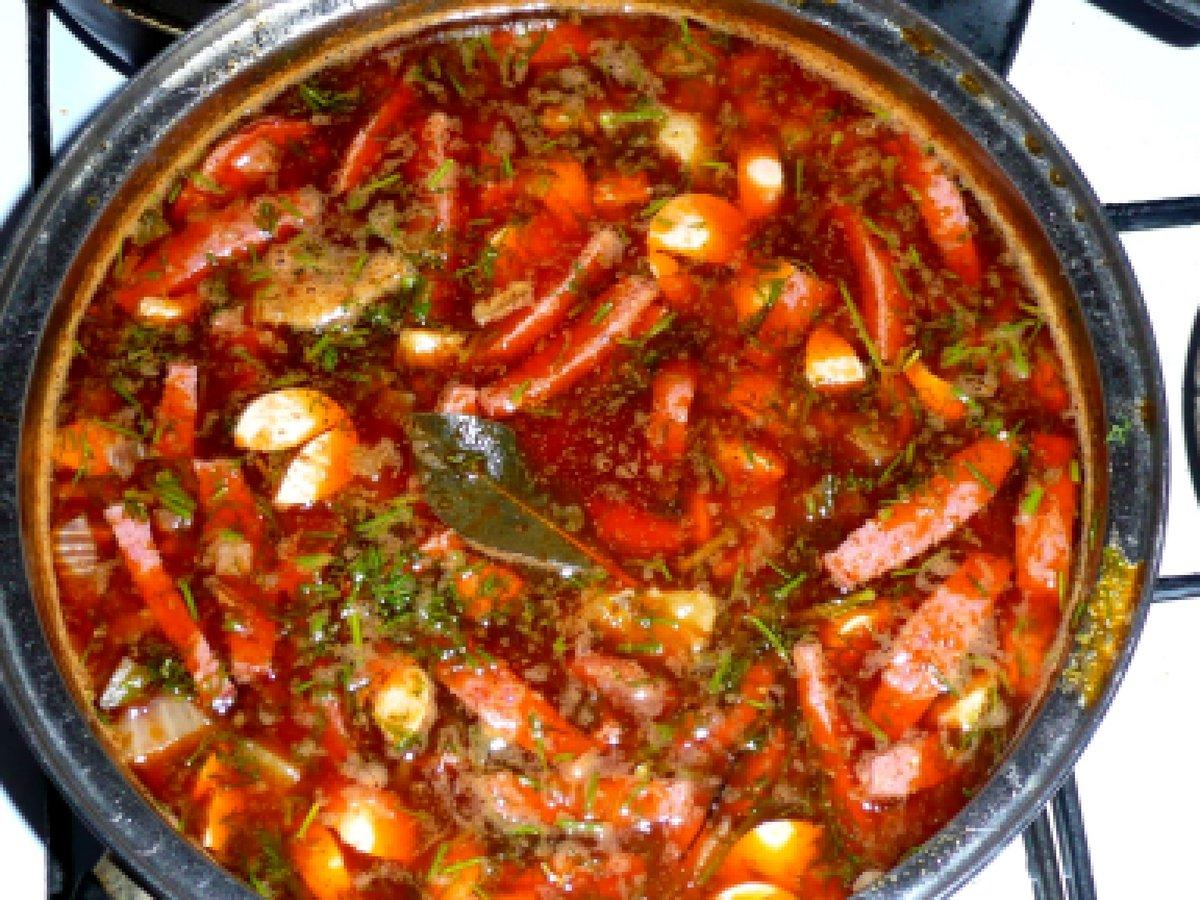 Солянка сборная мясная классическая рецепт пошаговый с курицей