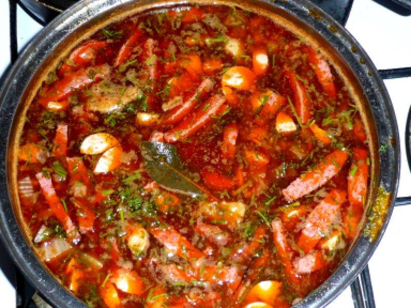 Солянка обычная пошаговый рецепт с