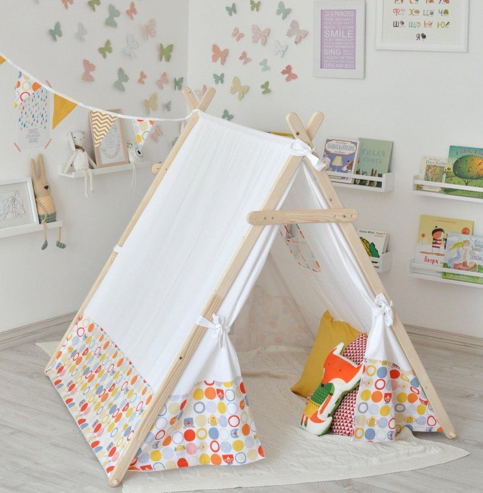 Как сшить палатку домиком 80