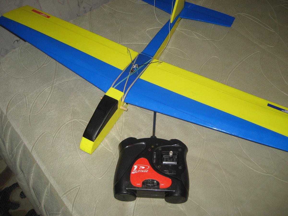 Радиоуправляемый самолет своими руками Самые нужные самоделки 6