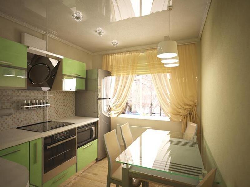 Кухни дизайн проекты 12 кв метров с балконом.