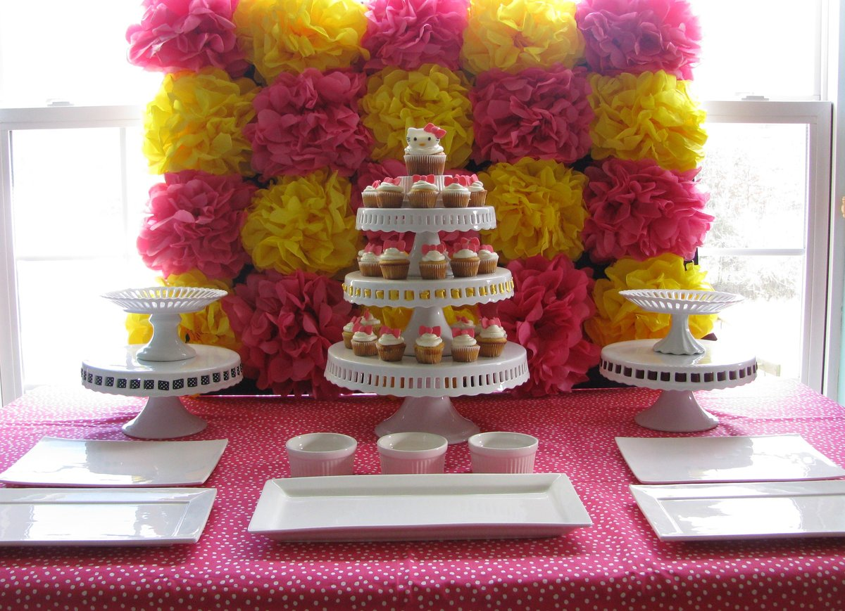 Как сделать бумажные украшения на день рождения