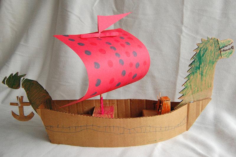 Кораблик сделанный своими руками