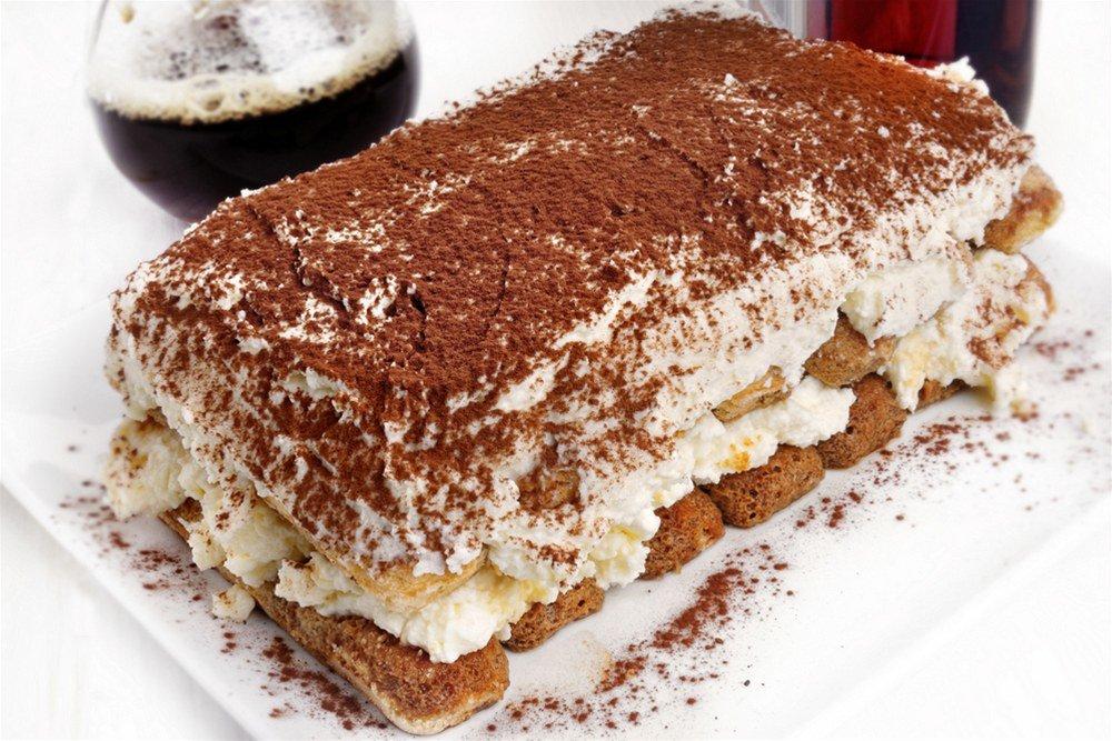 Торт тирамису с творогом в домашних условиях рецепт с пошагово