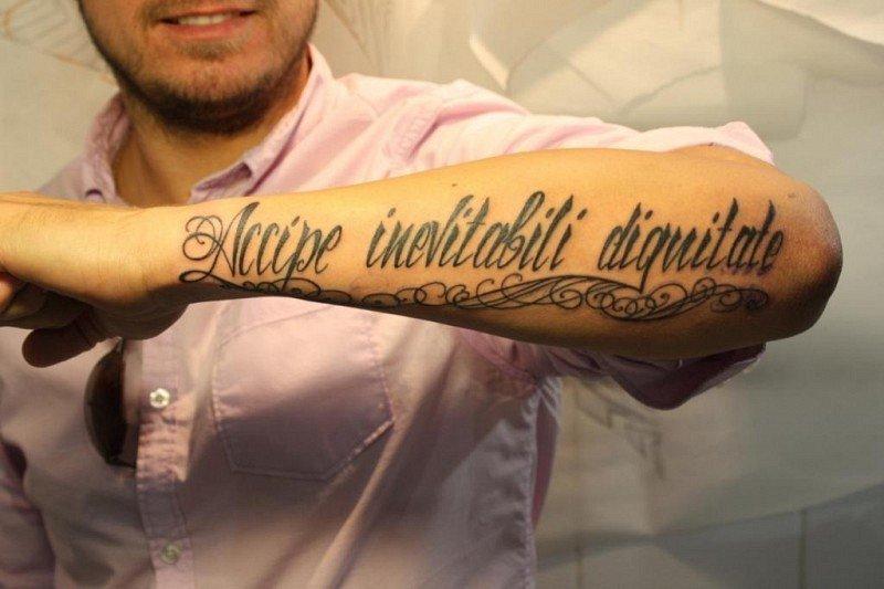 Смотреть тату надписи на руке
