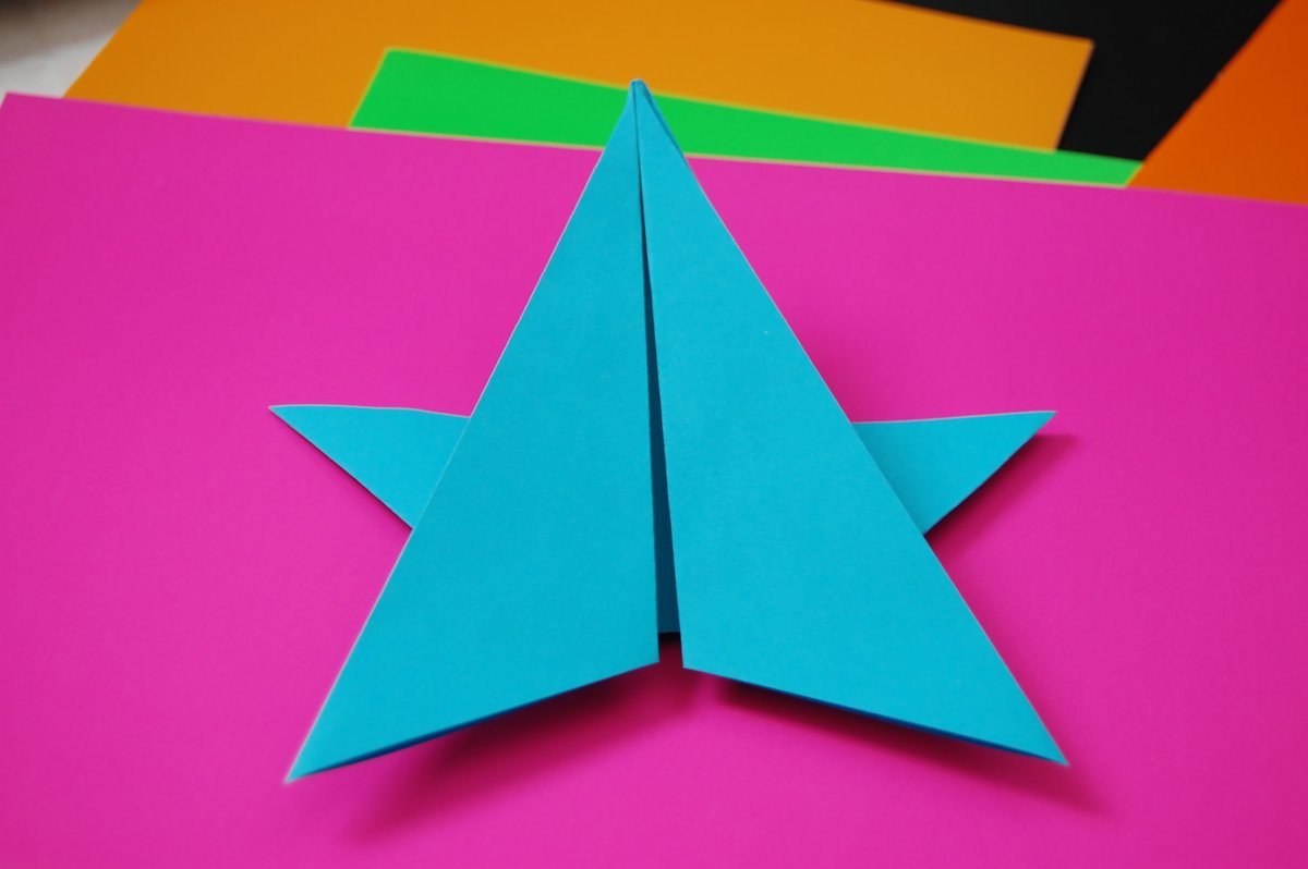Простейшие поделки из оригами для детей 4 лет