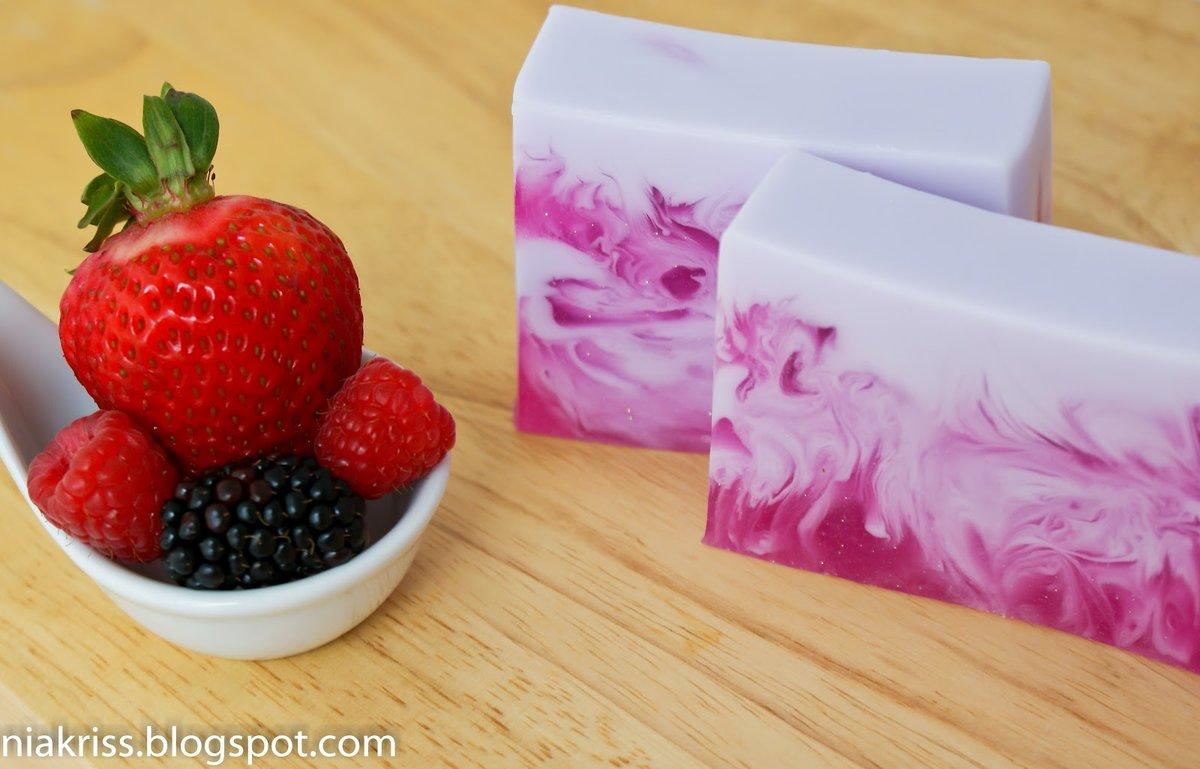Мыло своими руками с виноградом