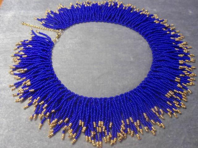 Фото мастер класс из бисера ожерелье