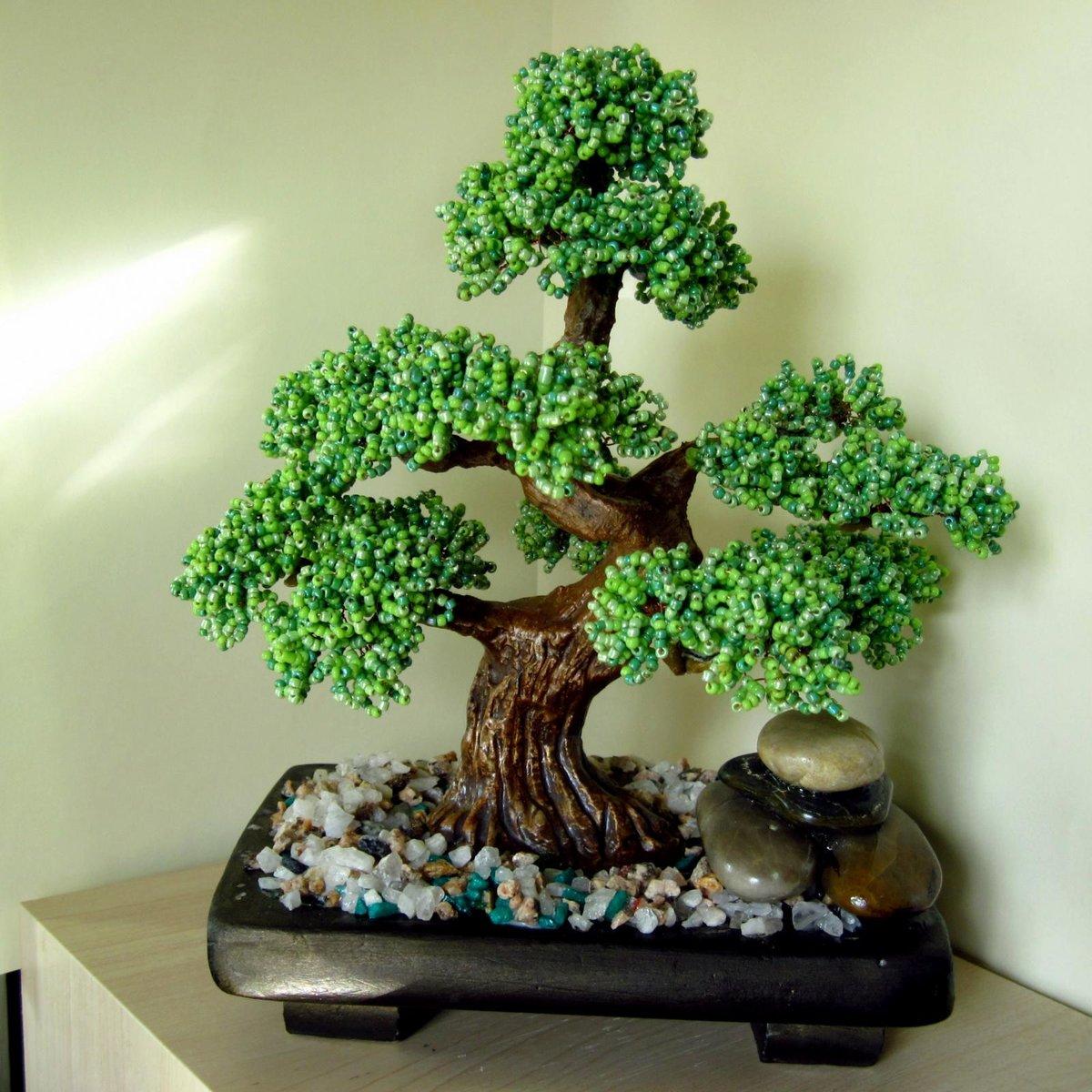 Мини-деревья своими руками 8