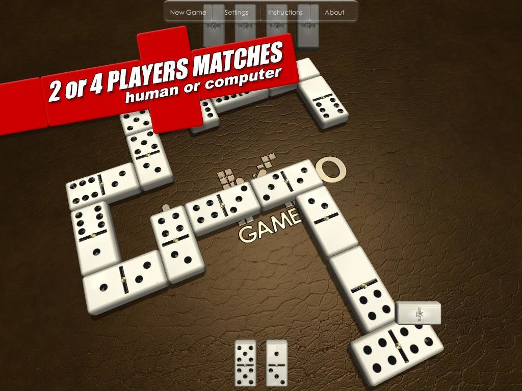 Game instructions for dominoes