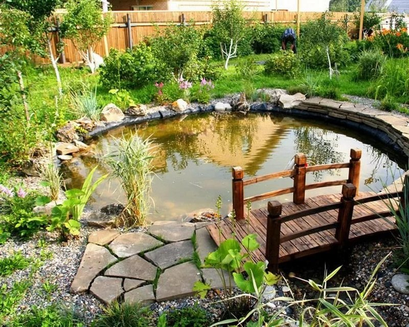 Изготовление водоема на участке