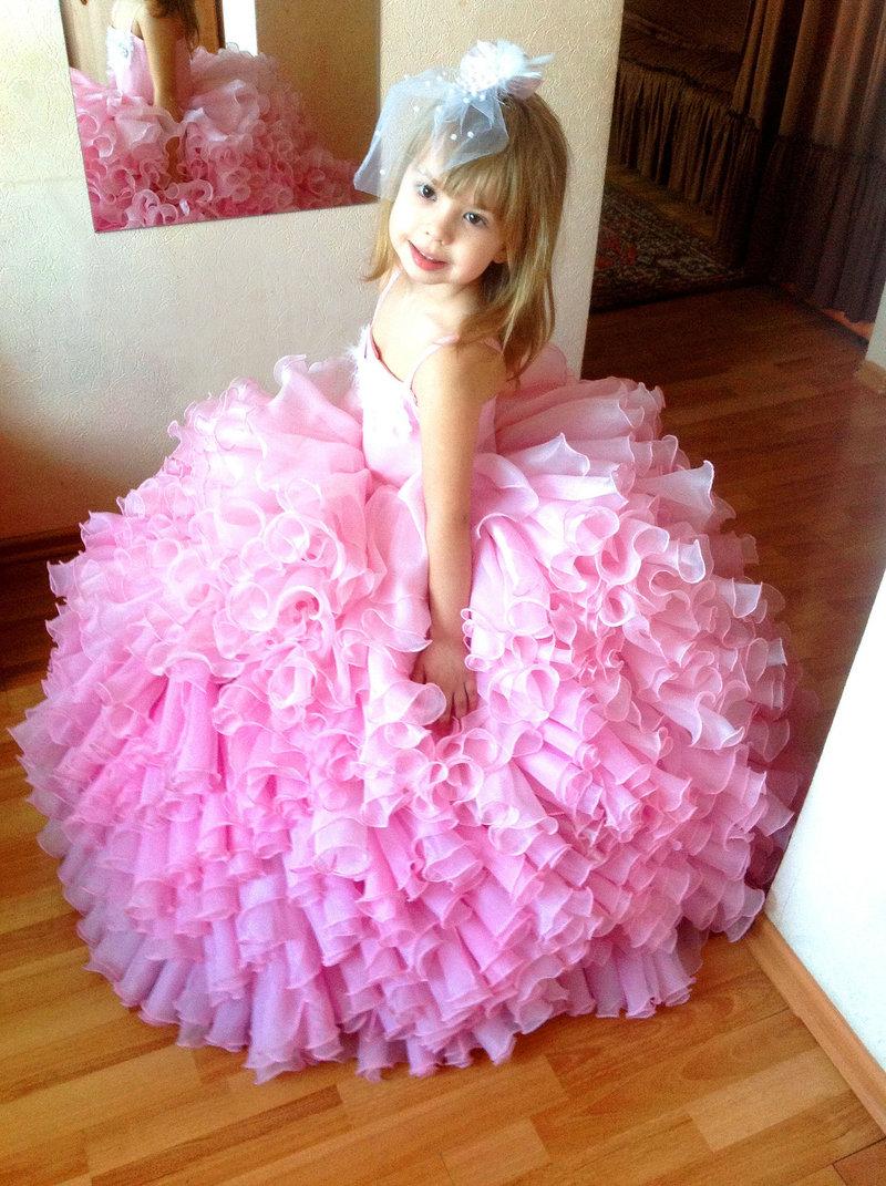 Как сшить пышное платье ребенку своими руками