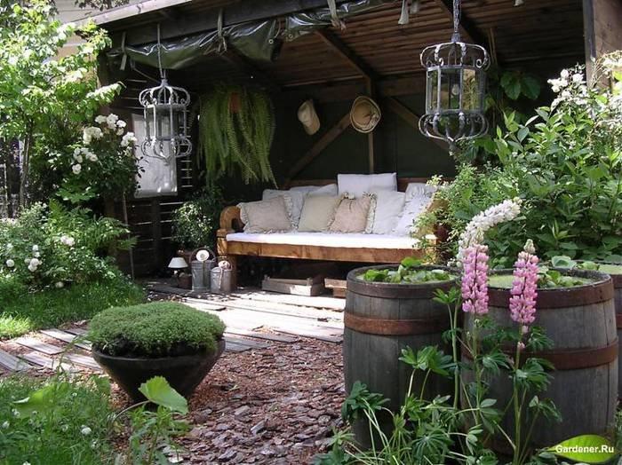 Сад своими руками на даче фото 735