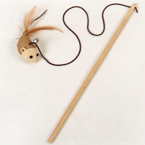 Игрушка на палочке для кошки