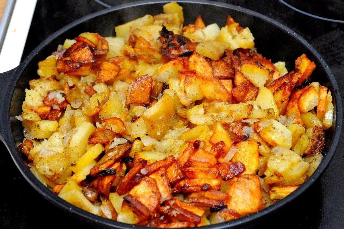 Картофель с фаршем в кастрюле пошагово
