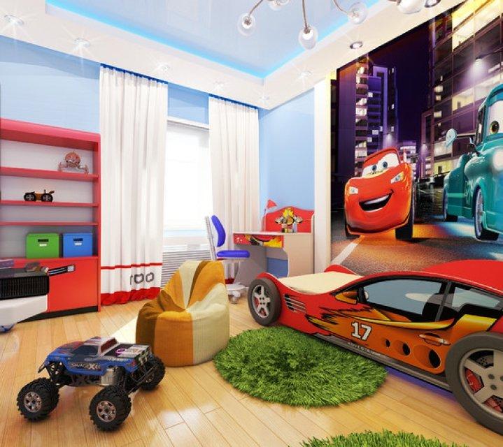 Детская комната для мальчика фото интерьер