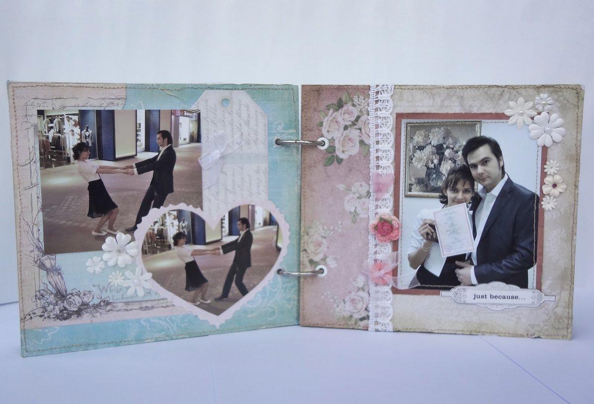 Сделать своими руками свадебный фотоальбом 21