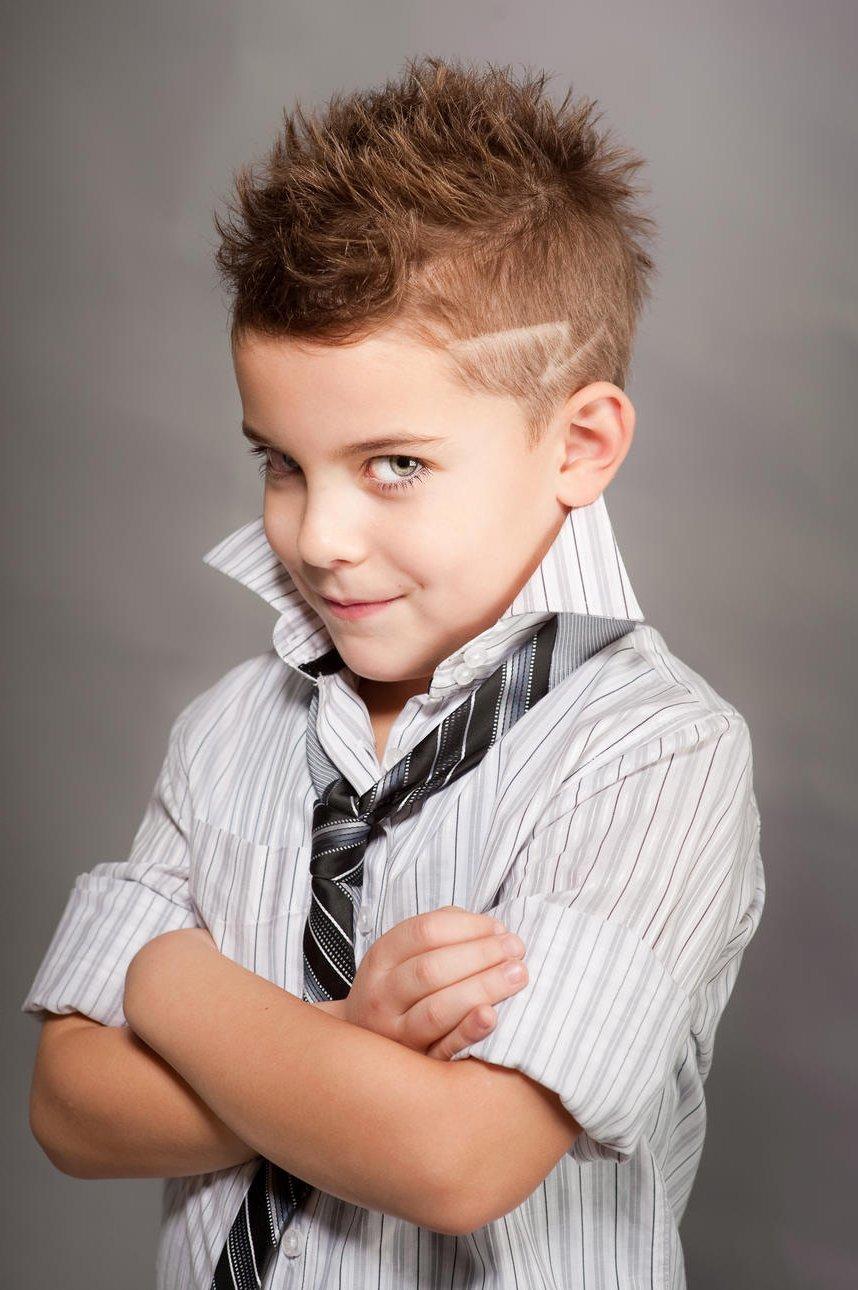 Прически на выпускной мальчику фото