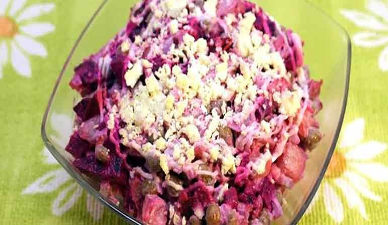Сытные и простые салаты рецепты простые и вкусные