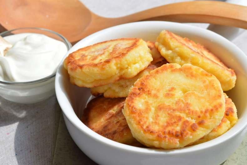 Несладкие сырники из творога рецепт пошагово