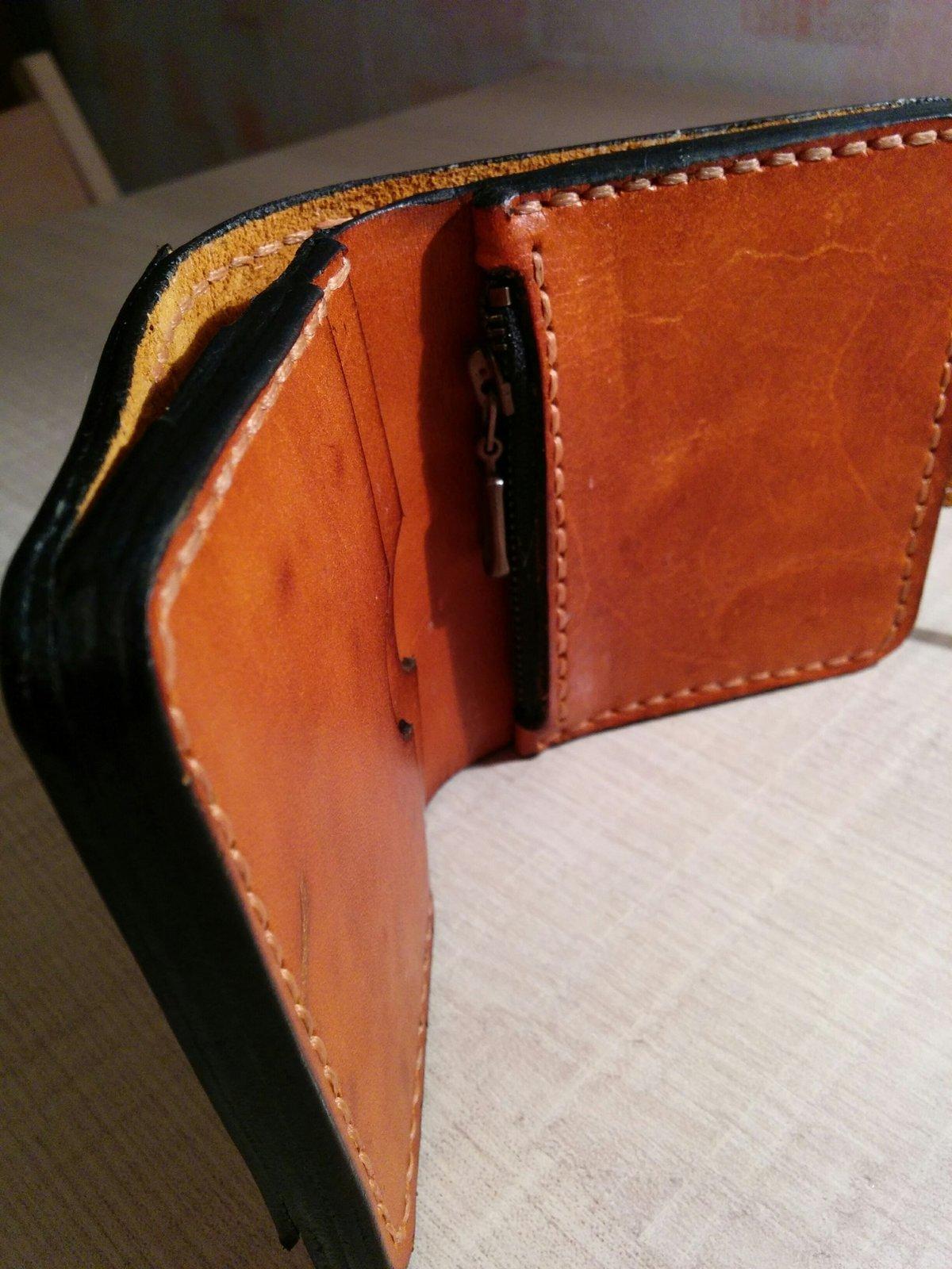 Бумажник кожаный своими руками