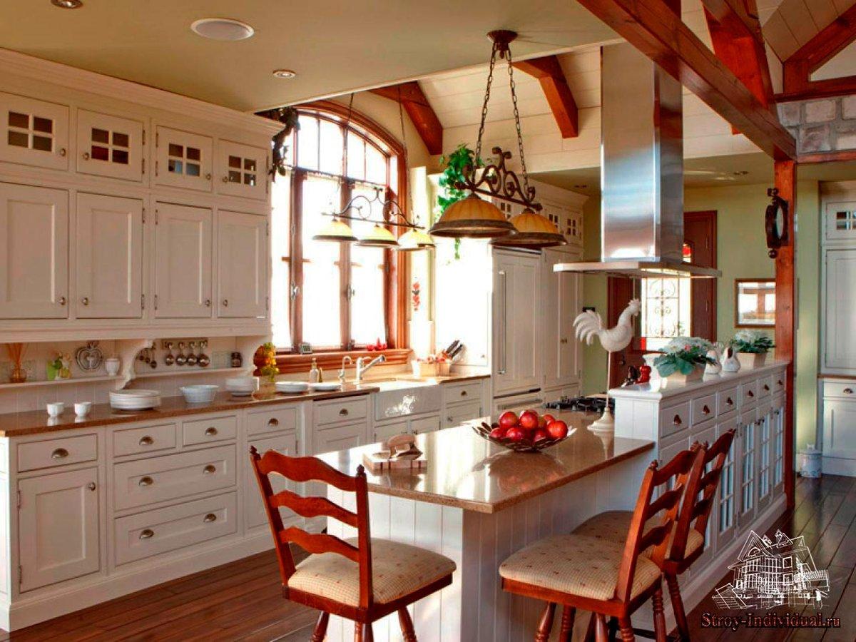 Фото кухни своими руками частных домов