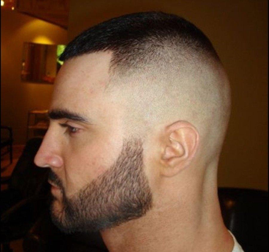 Стрижки короткой бороды