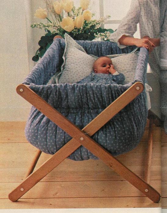 Как сделать детскую кроватку своими руками для новорожденного 91