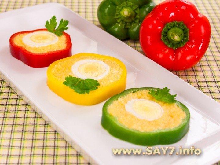 Фаршированные яйца с сыром и чесноком рецепт