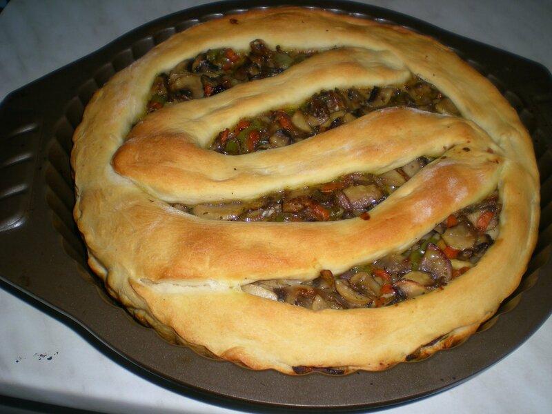 Постные пироги с грибами рецепт с