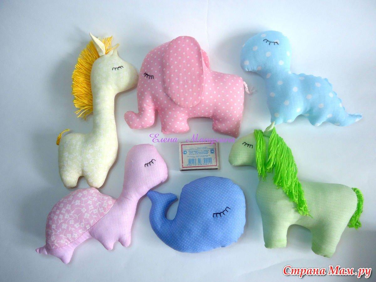 Мягкие игрушки-зверюшки / www. HolidaySoon.org 52