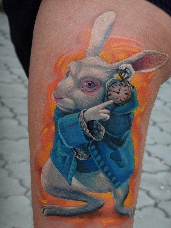 Что означает тату с кроликом 3