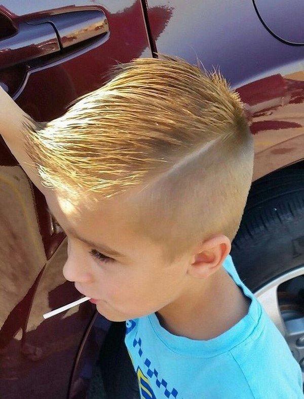 Как сделать волосы для мальчика