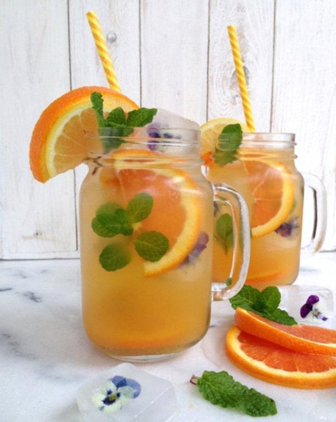 Как сделать напиток из апельсинов в домашних условиях 956