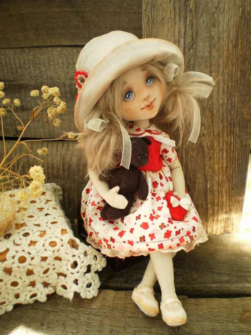 Куклы своими руками валяние мастер 1001