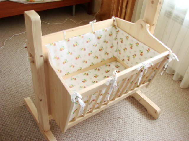 Как сделать детскую кроватку своими руками для новорожденного 58