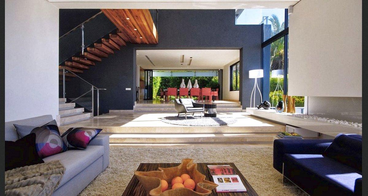 Крутые интерьеры крутых домов