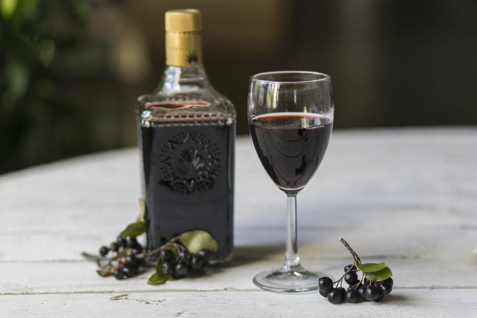 Быстрое вино рецепт черноплодной рябины