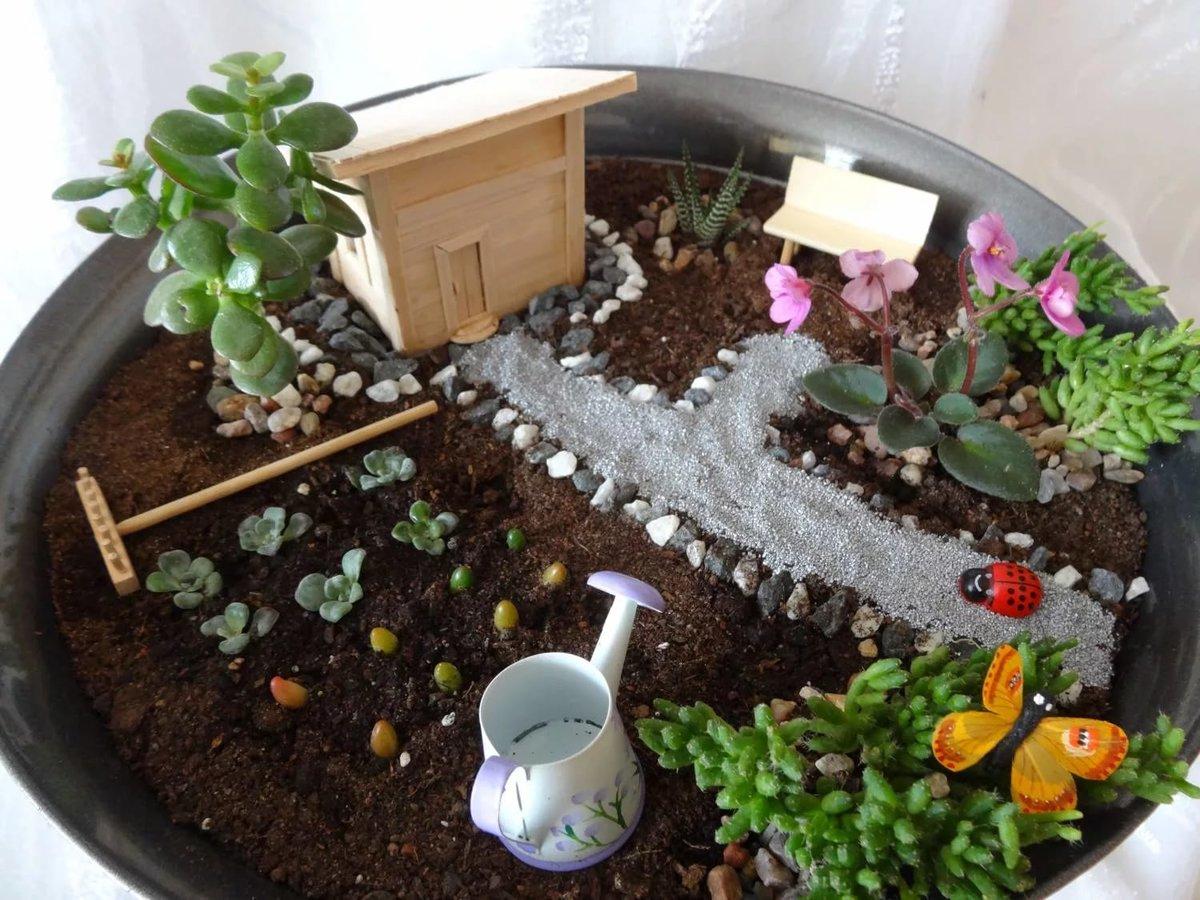 Как сделать сад коллекция 698