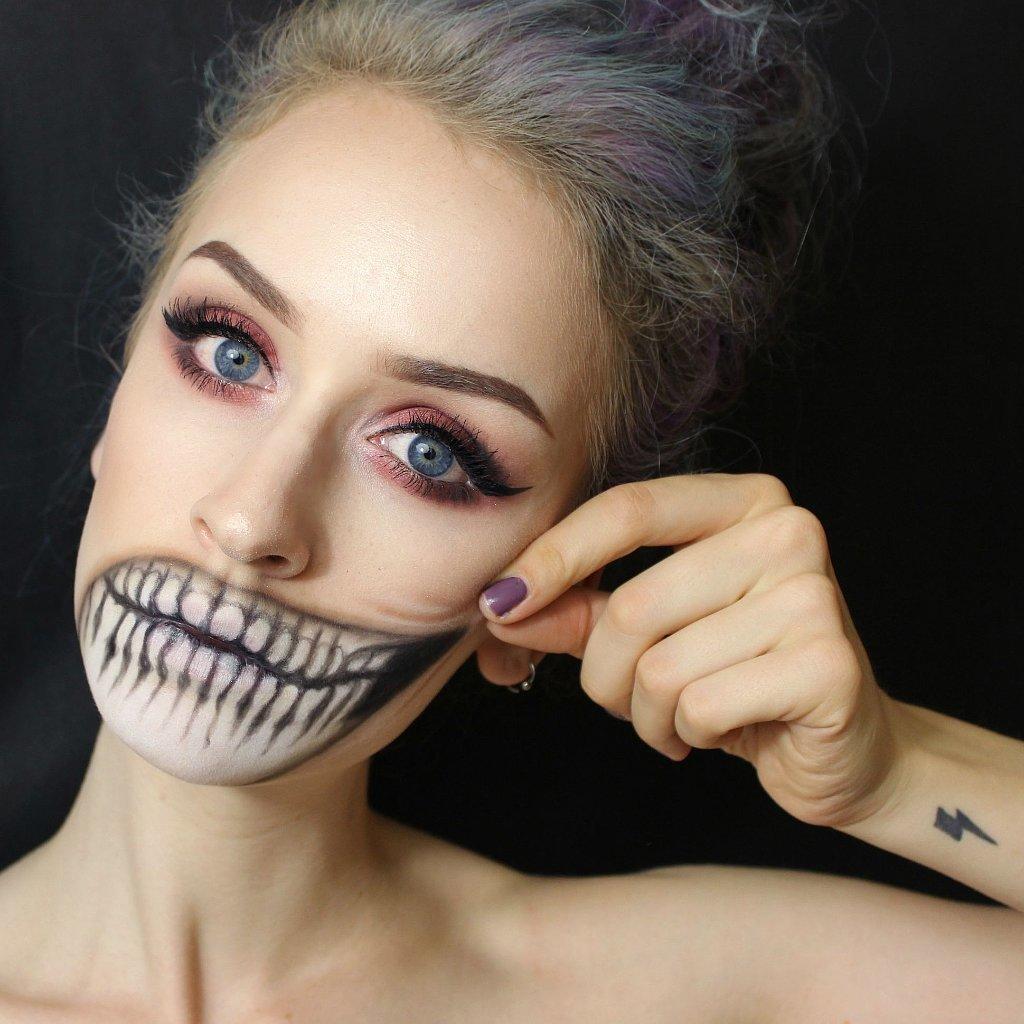 Страшный и прекрасный макияж на Хэллоуин: 20 идей для классного мейк-апа