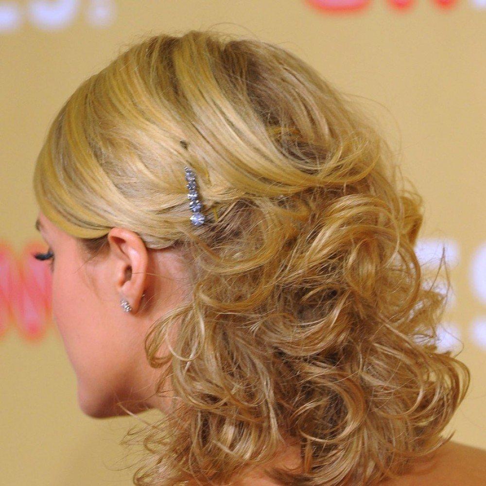 Причёски для тонких волос на выпускной
