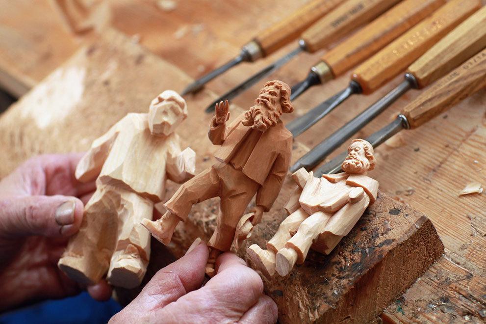 Человечки из дерева своими руками 264