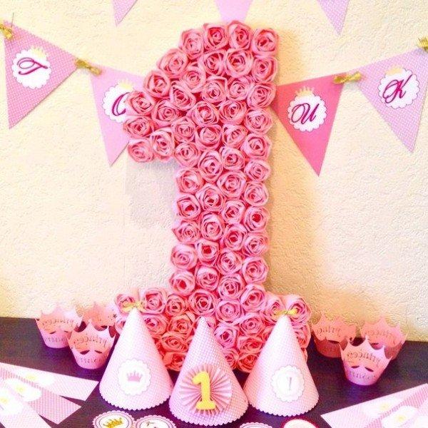 Буквы для дня рождения своими руками 37