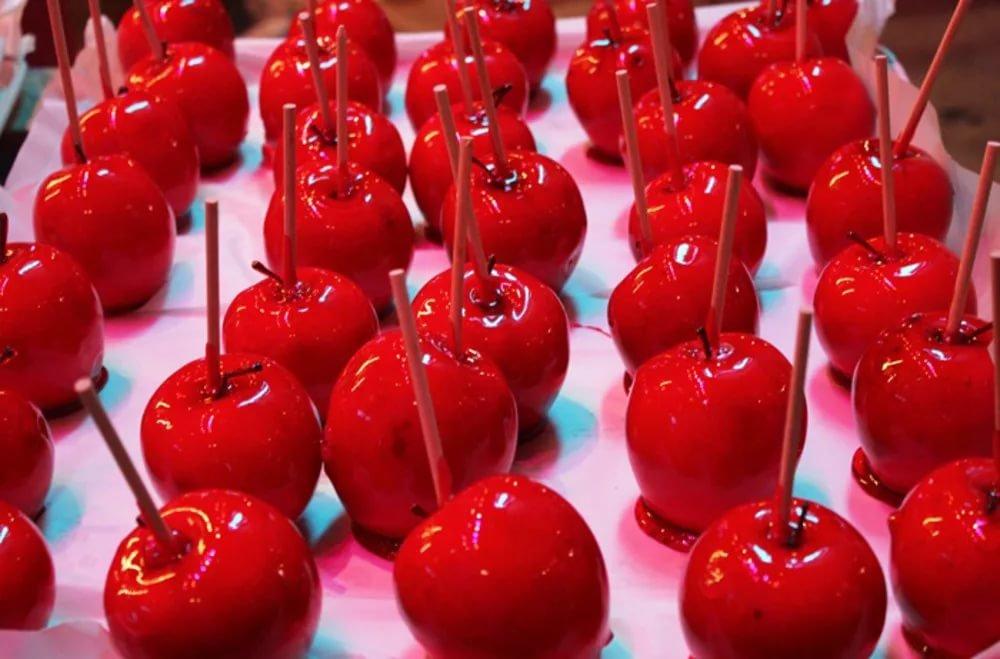 Как сделать сахарное яблоко 701
