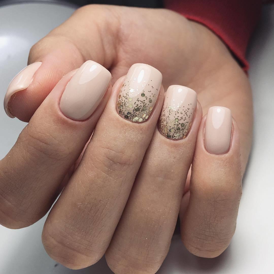 Нюдовый дизайн ногтей фото