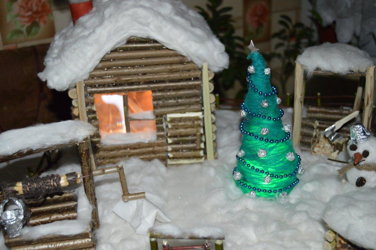 Зимние поделки своими руками фото для детского сада