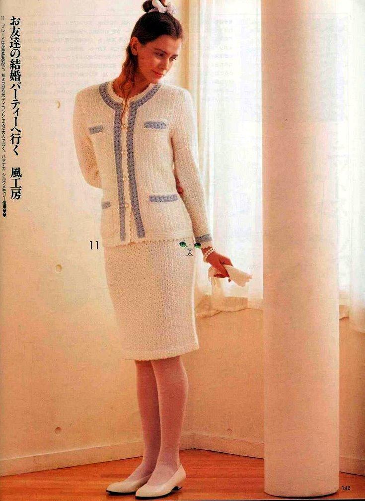 Вязание женских костюмов 81