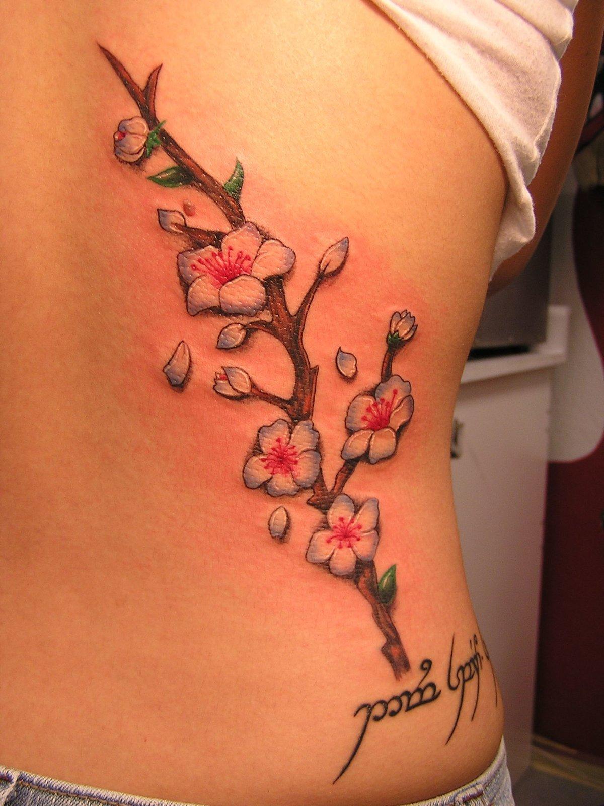 Значение тату сакура - Татуировки и их значение 77