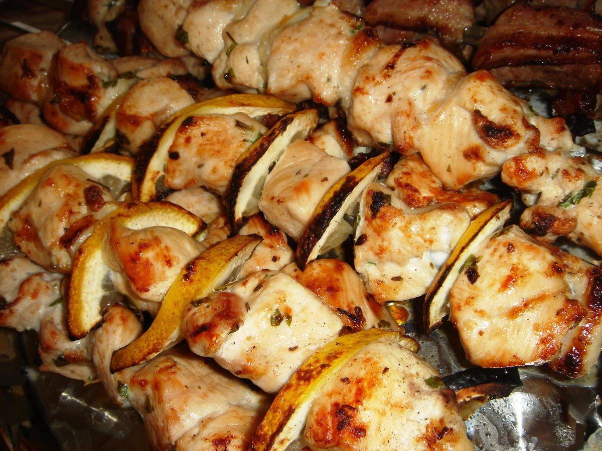 Шашлык маринованный в духовке рецепт