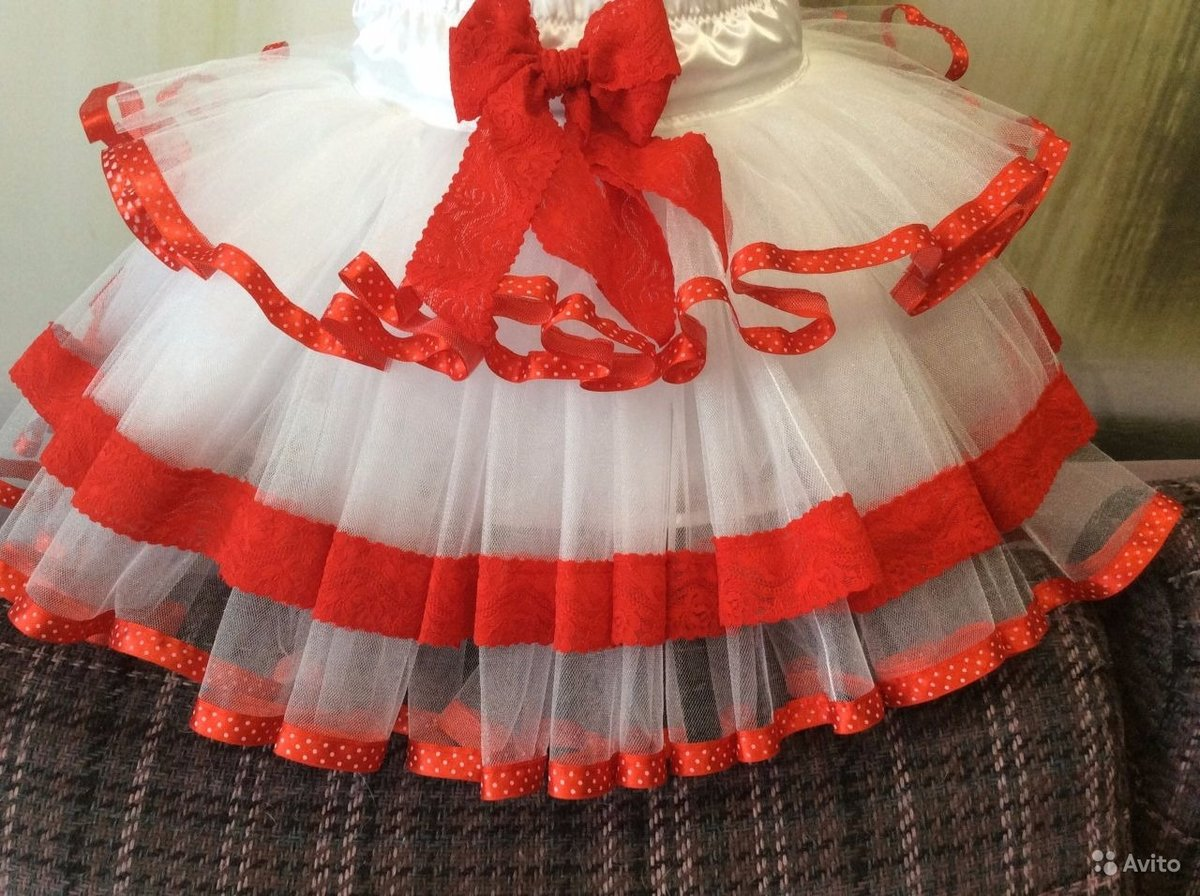 Платье или юбка из фатина своими руками 34